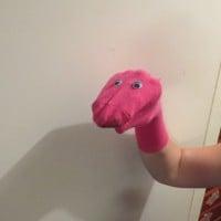 Hannah's Sock Puppet